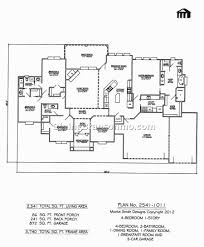 2 story floor plans with garage 4 bedroom house plans with garage in back