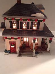 heartland valley porcelain lighted house