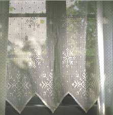 needle works butterfly filet crochet curtains projects to try