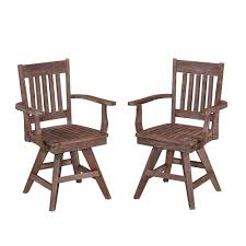 Swivel Dining Chair Swivel Outdoor Dining Chairs Patio Chairs The Home Depot