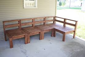 Wood Patio Furniture Plans Free by Build Outdoor Furniture