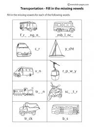 transportation worksheets free worksheets library download and