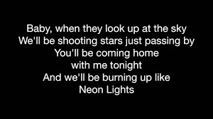 Coming Home Quotes by Demi Lovato Neon Lights W Lyrics Youtube