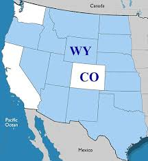 Wyoming how long does it take for mail to travel images White house can 39 t find colorado on u s map as officials mix up jpg