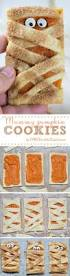 mummy pumpkin cookies omg chocolate desserts