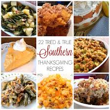 south your southern thanksgiving recipes