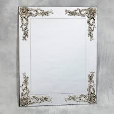 Frameless Molten Wall Mirror by Wood Framed Edge Wall Mirror Ideas Wood Framed Mirrors With