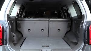 nissan rogue back seat 2013 nissan xterra folding rear seats youtube