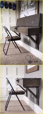 Desk Diy Plans Diy Wall Mounted Desk Free Plans