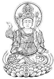 Hindu Mythology Buddha 39 Gods And Goddesses Printable Buddhist Coloring Pages