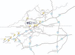 Knoxville Tn Zip Code Map by King University Knoxville