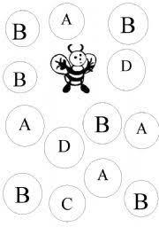english worksheets letter b recognition