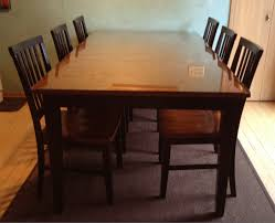 We Put A Glass Top On Our Wooden Kitchen Table Jill Cataldo - Dining room table protective pads