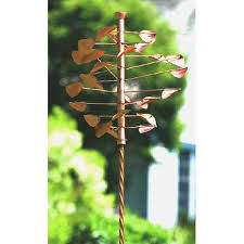 ancient graffiti twisted stake copper finish from hayneedle