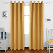 yellow curtains drapes and valances ebay