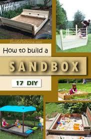 Backyard Sandbox Ideas Diy Sandbox With Cover Sandbox Cat And Backyard