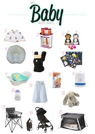 my baby must haves u2014 la bella via