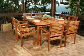 wood patio dining chairs wood patio furniture with cushions wooden