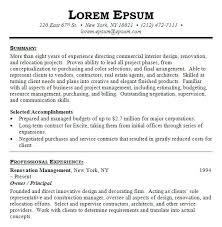 interior design resume template word examples cover letter u2013 inssite