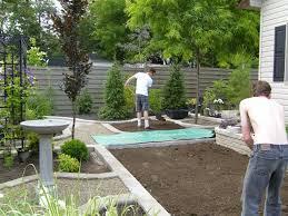 engaging garden design then small backyard landscape design also
