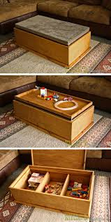 storage ottoman reversible top build a reversible top storage coffee table for 100 with purebond