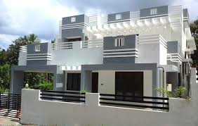 2800 square foot house plans 6 cents plot and 2 300 sq ft contemporary villa for sale in