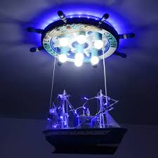 pirate ship light fixture creative pirate ship led pendant lights individuality children