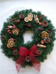 welcome family and friends with a fresh wreath