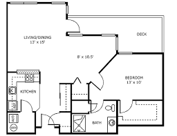 assisted living floor plans retirement community federal way wa