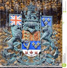 the royal coat of arms of canada editorial stock image image