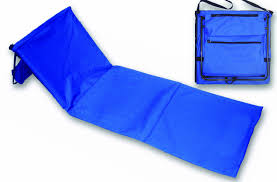 Beach Lounger Perfect Beach Lounger Mat With Built In Cooler And Carrying Strap