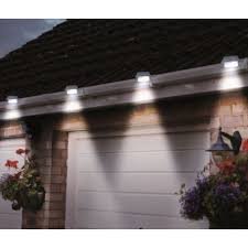 2 pack solar powered led gutter lights assorted colors dailysale