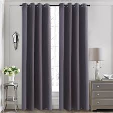 amazon com thermal insulated blackout curtain panels aquazolax