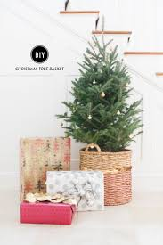 diy tree basket