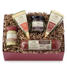 summer sausage gift basket hickory farms simply sausage cheese duo gift box hickory farms