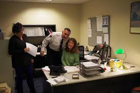 Plymouth Herald News Desk Plymouth Police Department Longtime Aide Retires After 35 Years