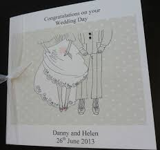 card to groom from on wedding day 14 best wedding cards congratulations on your wedding day images