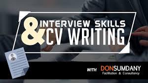 interview skills u0026 cv writing live with don sumdany ayman