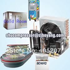 condensation chambre refroidi par air unité pour la réfrigération condensation unités