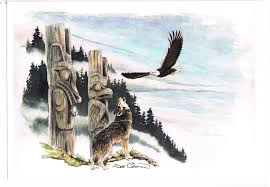 eagle and wolf whetung ojibwa centre