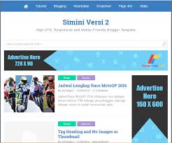 simini v2 high ctr responsive blogger template blogger templates