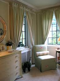 Fancy Window Curtains Ideas Bedroom Fancy Decorating Ideas Using Rectangular White Wooden