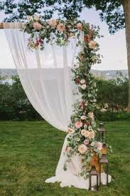 wedding arch garland all out looks a something like this wedding arch