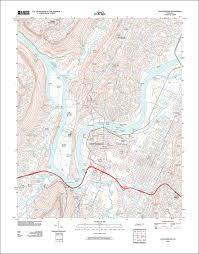 Map Of Chattanooga Tennessee by Image Of The 2010 Chattanooga Tennessee 7 5 Minute Series
