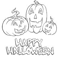 16 happy halloween pumpkin drawings color toddlers 100