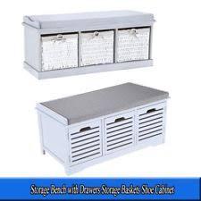 modern storage benches ebay