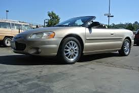 2002 chrysler sebring convertible lxi 1 owner for sale cheap