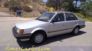 mazda car old model 87 mazda 323 dx familia bd ap glc 1 owner 55 000 original miles