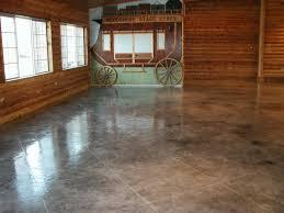 concrete textured flooring epoxy chicago il illinois decorative