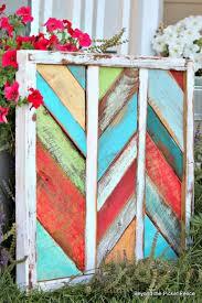 reclaimed wood art bec4 beyondthepic home decor ideas